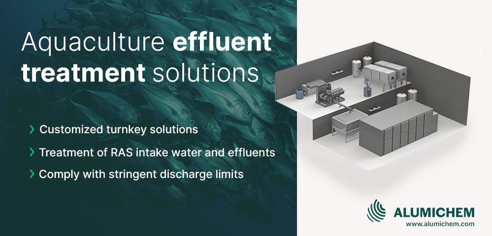 Aquaculture effluent treatment